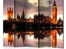 Paraván - Big Ben in the evening, London II [Room Dividers]